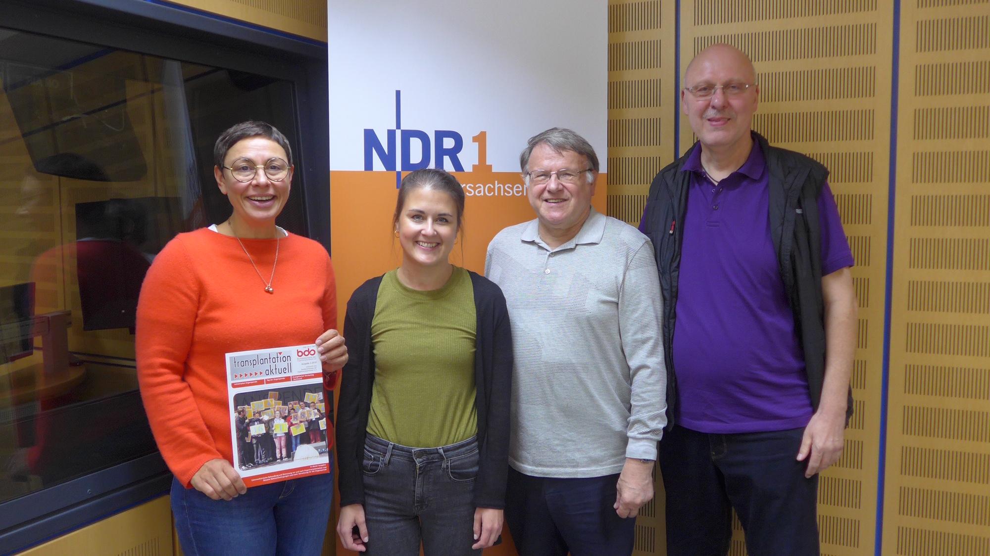Die Regionalgruppe Niedersachsen war zu Gast beim Radiosender NDR1 in der Sendung Plattenkiste