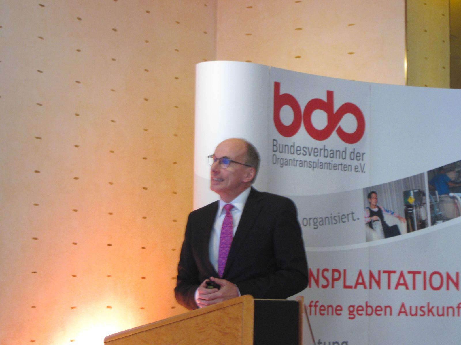 Dr. Rahmel (Deutsche Stiftung Organtransplantation = DSO)