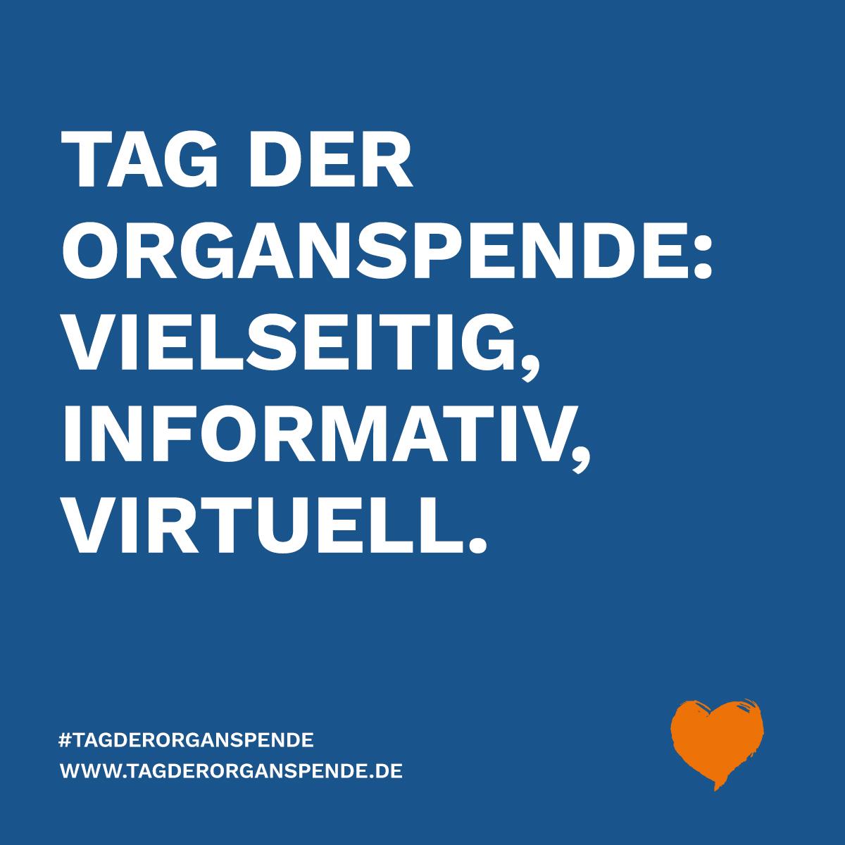 virtueller Tag der Organspende