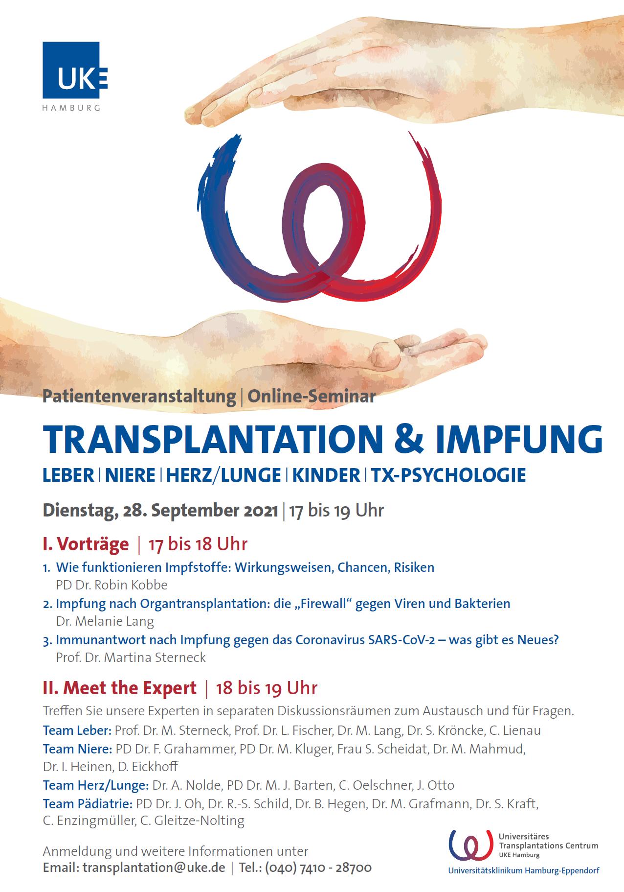 Transplantation & Impfung
