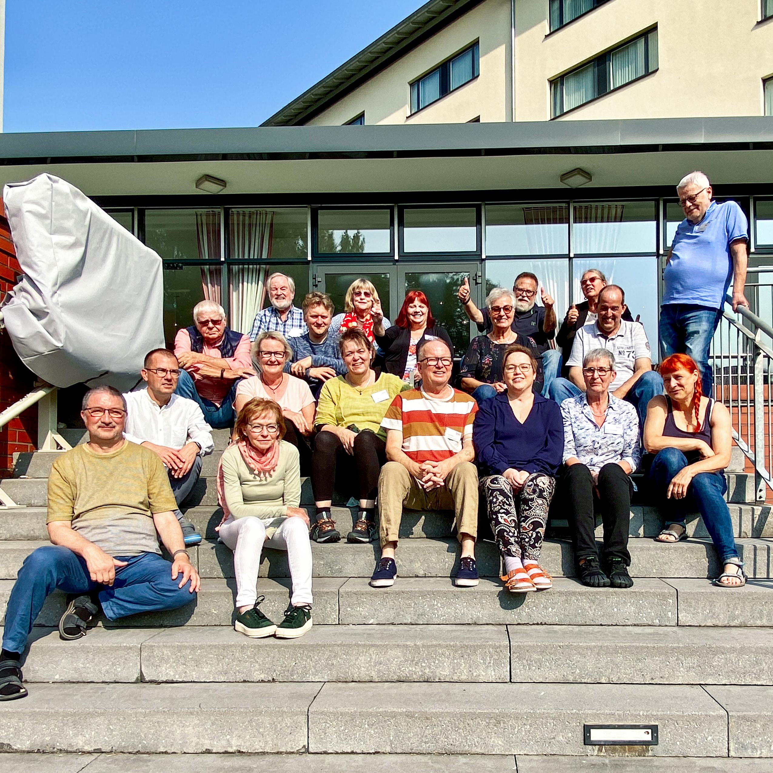 Regionalgruppenleitertreff in Erkner 2021